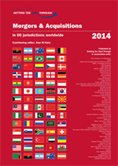 Getting the Deal Through – Mergers & Acquisitions 2014