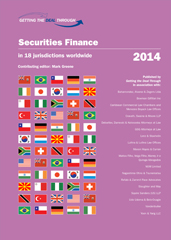 Getting the Deal Through – Securities Finance 2014