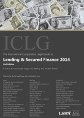 ICLG to Lending & Secured Finance 2014 Edition
