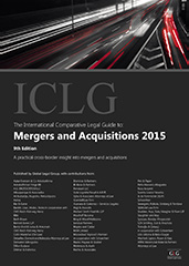 The International Comparative Legal Guide to Mergers & Acquisitions 2015 Edition