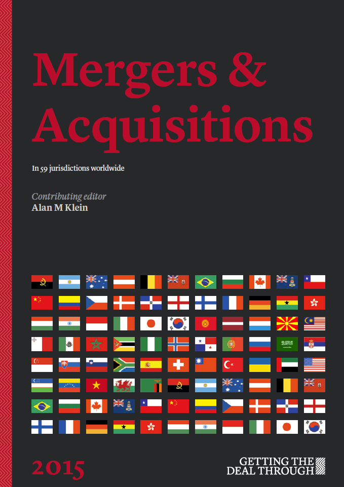 Getting the Deal Through - Mergers & Acquisitions 2015