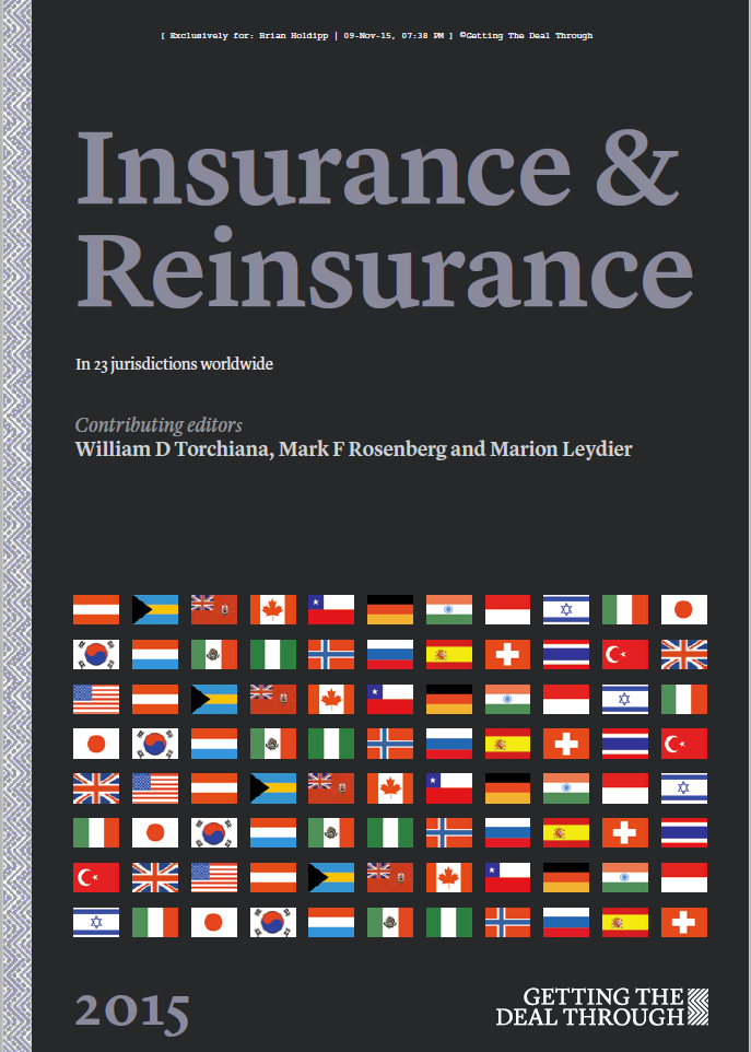 Getting the Deal Through - Insurance & Reinsurance 2015
