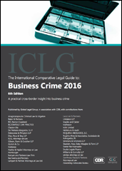 The International Comparative Legal Guide to Business Crime 2016