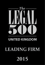 The Legal 500 - United Kingdom - Leading Firm 2015