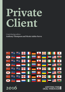 Getting the Deal Through - Private Client 2016