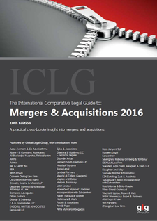 The International Comparative Legal Guide to Mergers & Acquisitions 2016