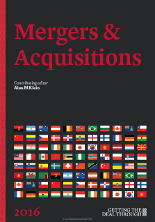 Getting the Deal Through - Mergers & Acquisitions - 2016