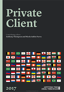Getting the Deal Through: Private Client – 2017