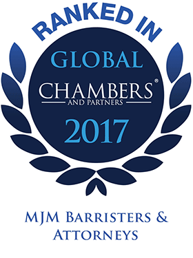 Top Ranked - Chambers Global, 2017