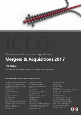 The International Comparative Legal Guide to: Mergers & Acquisitions 2017
