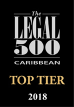 The Legal 500 - Caribbean - Top Tier 2018