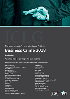 The International Comparative Legal Guide to: Business Crime 2018