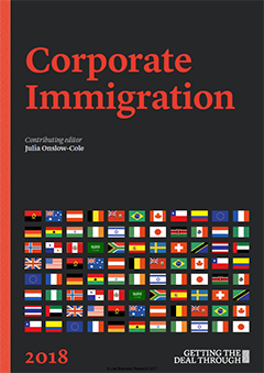 Getting the Deal Through: Corporate Immigration – 2018