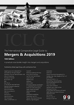 The International Comparative Legal Guide to: Mergers & Acquisitions 2019