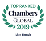 Alan Dunch - Chambers Global, 2019 - Top Ranked