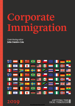 Getting the Deal Through: Corporate Immigration - 2019