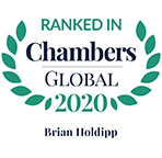 Ranked in Chambers Global, 2020 - Brian